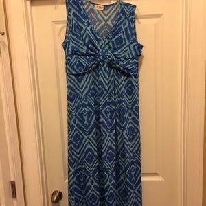 Jon & Anna Geometric Design Maxi Dress